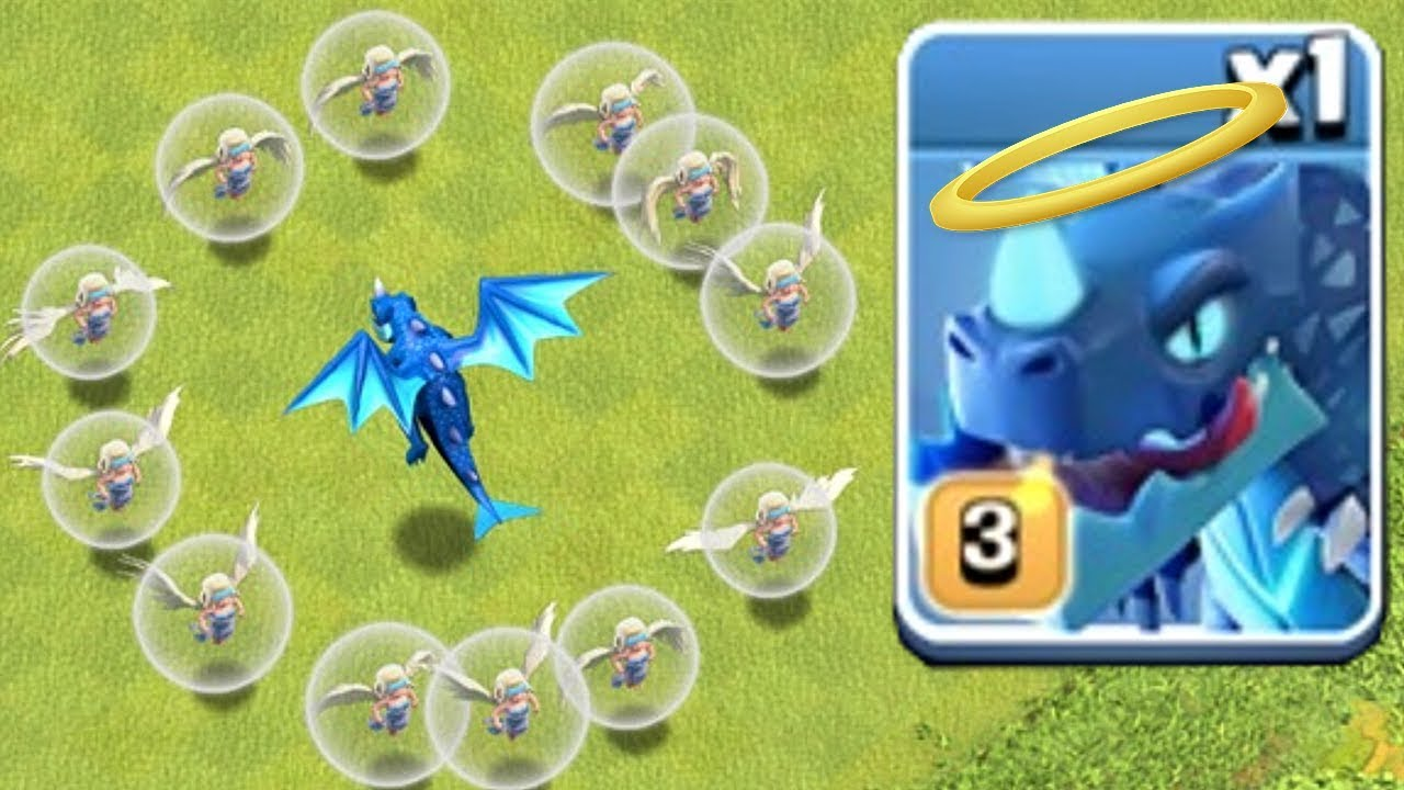 "HOLY E-DRAGON RAID!!! ""Clash Of Clans"" IS IT POSSIBLE!?!"