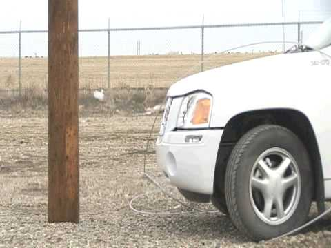 Auto Accidents and Electrical Equipment: What Do You Do If You Hit a Power Pole?