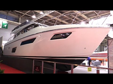 2017 Ferretti Yachts 450 Motor Yacht - Deck and Interior Walkaround - 2016 Salon Nautique Paris