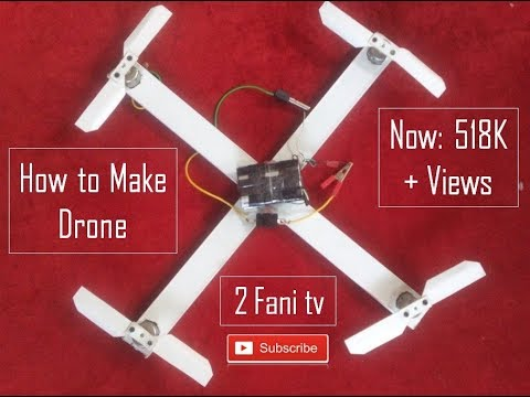 How to Make Drone Very Easily Fully Homemade By [ D.R.D Rakib ]