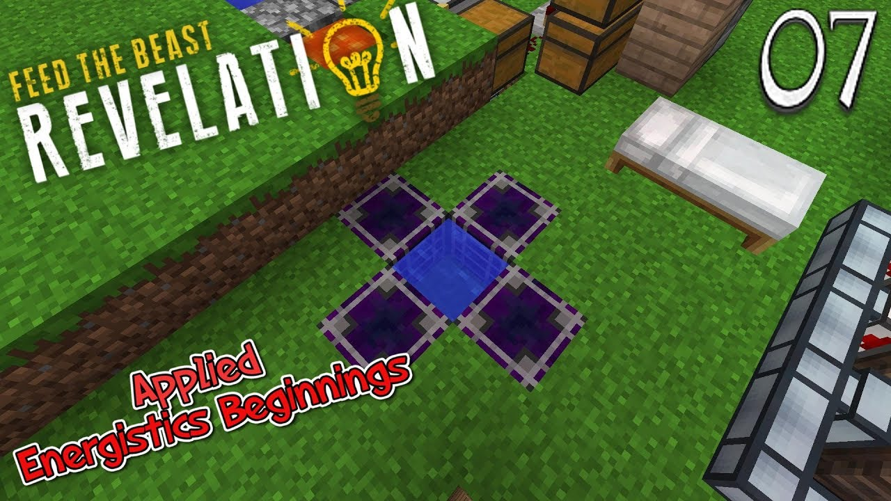 Lets Play Feed The Beast Revelation Applied Energistics