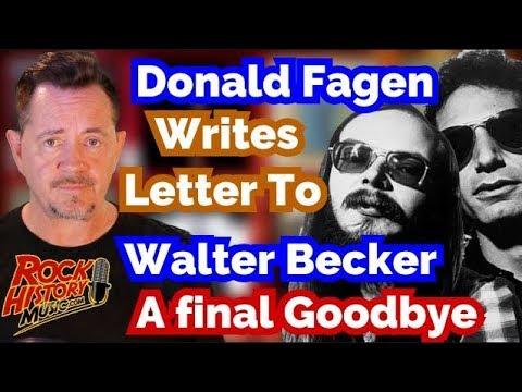Donald Fagen GIves Heartfelt Message To The Late Walter Becker