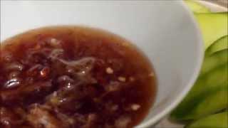 Thai Sweet Mango Dip Sauce มะม่วงน้ำปลาหวาน