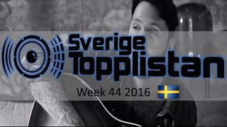 The Official Swedish Singles Chart TOP 20 | Week 44, October 29th 2016