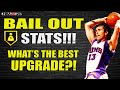 BAIL OUT BADGE STATS! WHATS THE BEST UPGRADE?? NBA 2K20