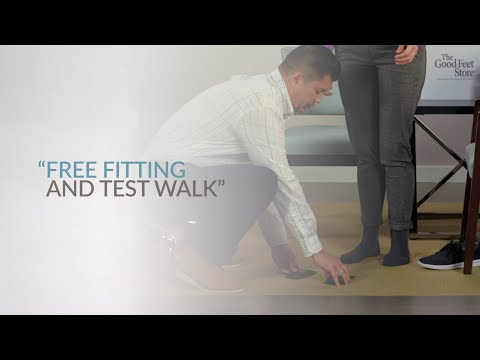 In Step with Beth  | Free Fitting and Test Walk