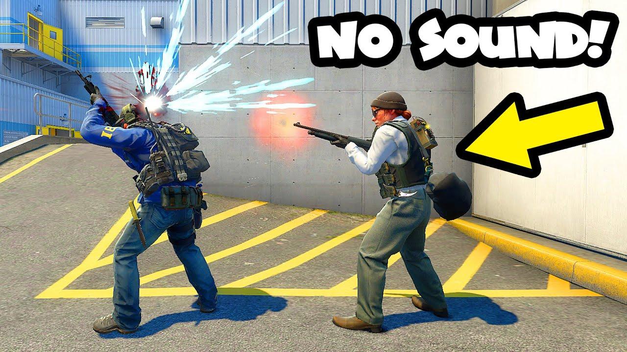 How to make SILENT SHOT? - CS:GO BEST ODDSHOTS #486