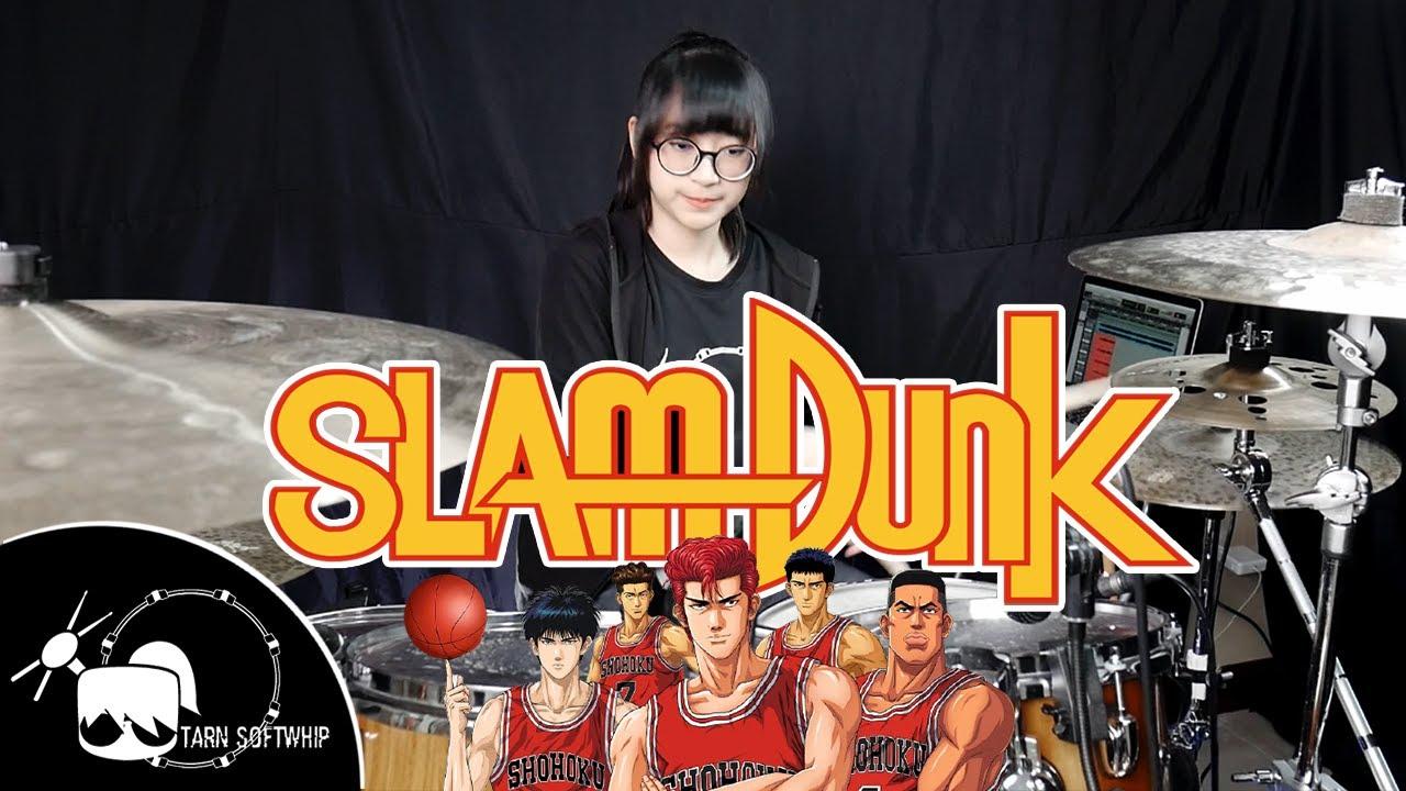 Slam Dunk Opening - Kimi ga suki da to sakebitai Drum Cover By Tarn Softwhip