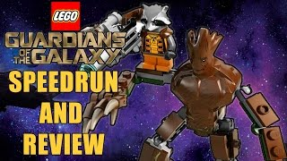 LEGO Guardians of the Galaxy Speedrun & Review - Knowhere Escape Mission Set 76020