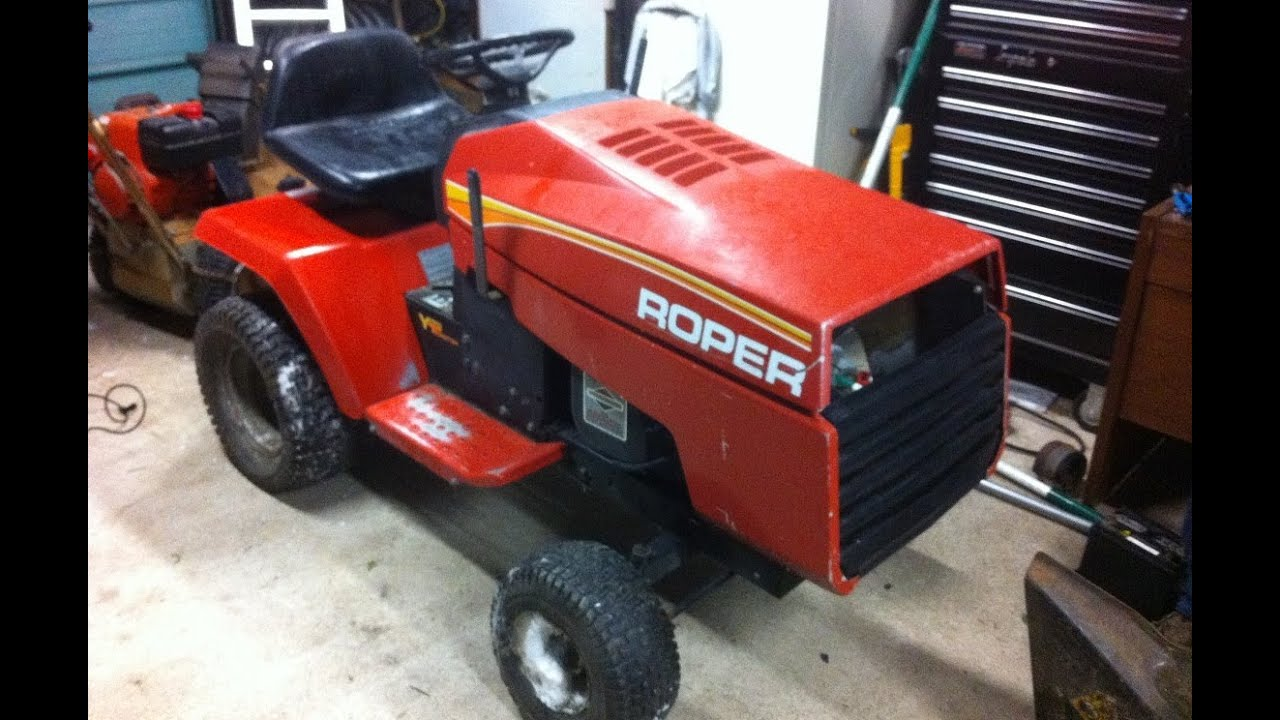 Roper Lawn Tractors And Garden : Roper racing tractor hp ic opposed twin youtube