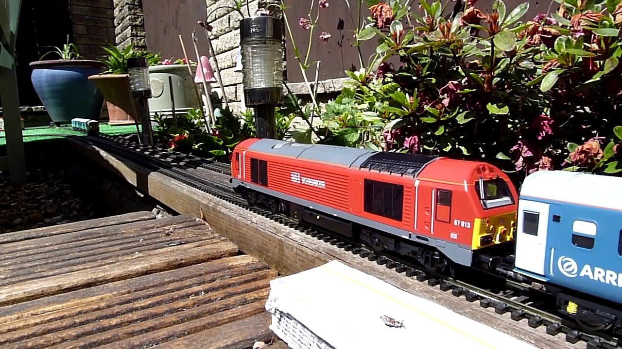 Download 00 Gauge  Loft Model Railway--Can't visit Wales so Wales comes to the Garden Railway