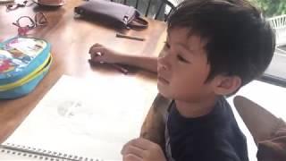 Rio vẽ mẹ | Lý Hải Minh Hà Family