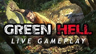 GREEN HELL // New Hardcore Survival in Jungle // Live Stream Gameplay