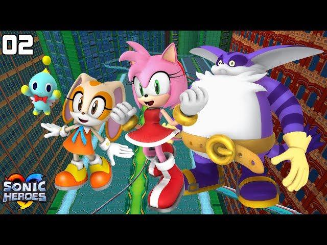 Sonic Heroes (GC) [4K] - Team Rose (2/7)