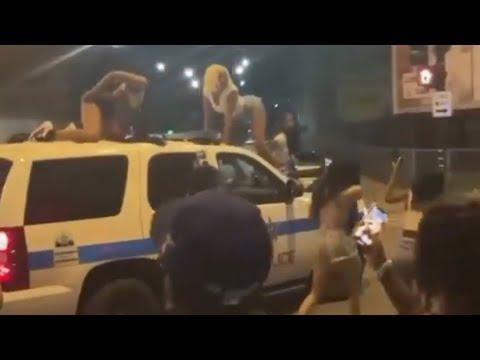 Chicago PD Investigating Video Of Women Twerking On Cop Car