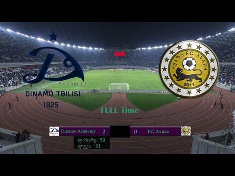 Dinamo academy 2007 2:0 FC Avaza 2006 16.12.19