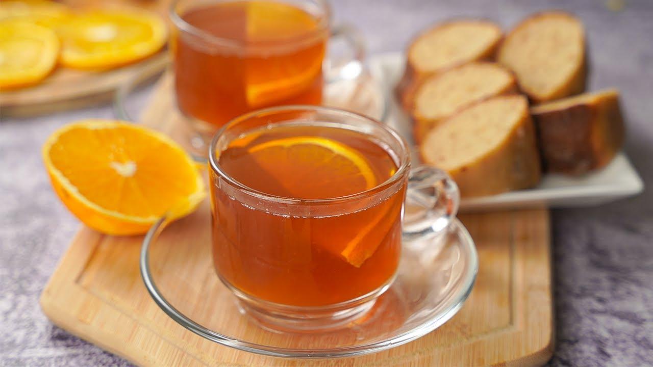 3 Iced Tea Recipes (Orange-Green Tea, Strawberry-Oolong Tea, Lemon-Black Tea)