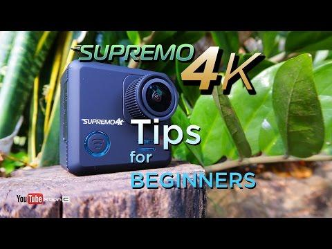 VLOG: Supremo 4k Action Camera Tips For Beginners [Tagalog]