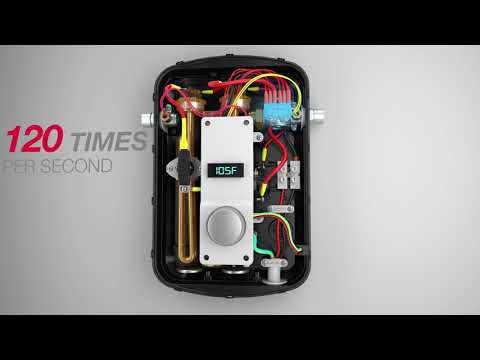 How It Works New Rheem Classic Series Tankless Electric Water Heaters