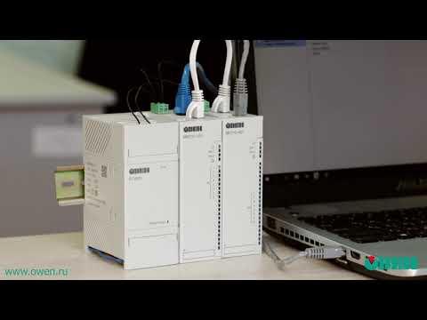 Видео 7. Подключение модулей Мх210 к облачному сервису OwenCloud