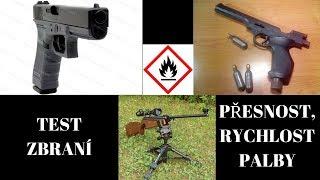 [Speciál] Test kuličkového Glocka a pistolové vzduchovky!!!