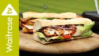 Anjum Anand's Barbecued Chicken Tikka Sandwich | Waitrose