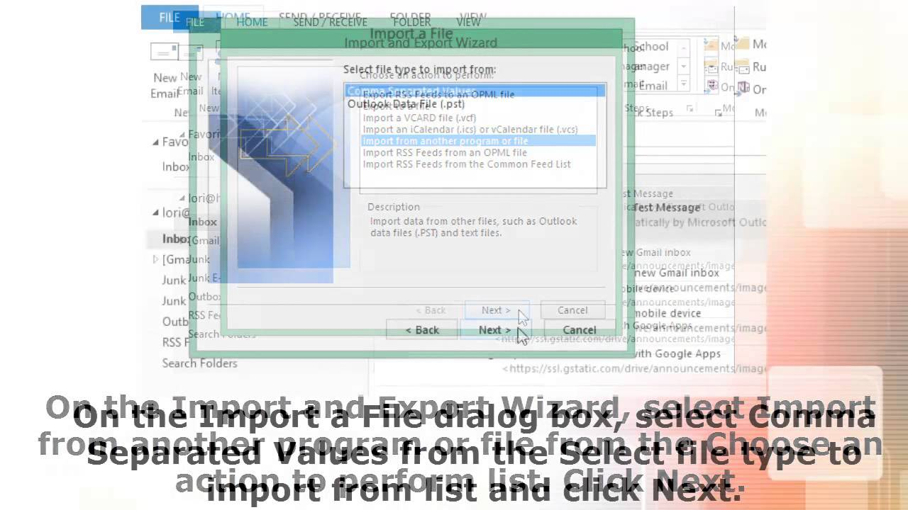 How to Import Multiple Contacts into Outlook 2013 From a Single vCard vcf  File