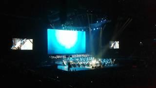 Andrea Bocelli and Ilaria Della Bidia  - Canto della Terra live @Zalgiris Arena, Lithuania.
