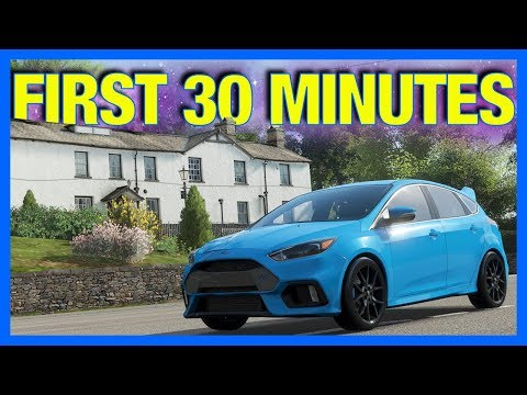 Forza Horizon 4: First 30 Minutes of Gameplay!! (First Car, First Job & More) [FULL GAME]
