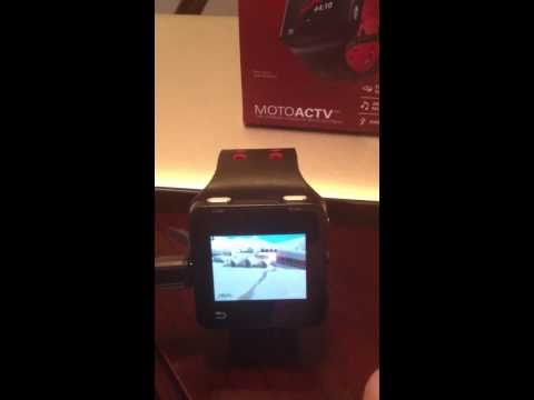 Rooted Motorola Actv Andoid watch