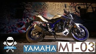 połowa ciemnej strony mocy yamaha mt 03 opinia