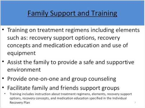 07/17/15 MCTAC Webinar Family Support and Training