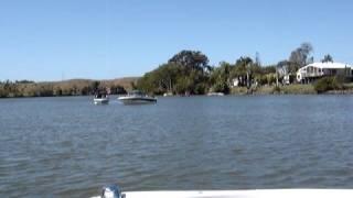Boating the Tweed