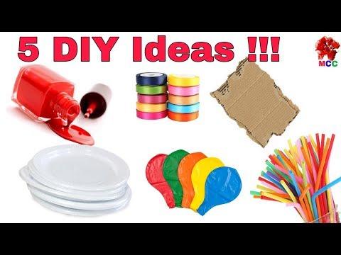 5 DIY Craft Ideas | How to make Rakhi at home (Rakshabandhan)|  DIY Rakhi making
