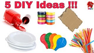 5 DIY Craft Ideas | How to make Rakhi at home (Rakshabandhan)|  DIY Rakhi making