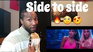 Ariana Grande ft. Nicki Minaj - Side to Side ( Official Video ) Reaction!!