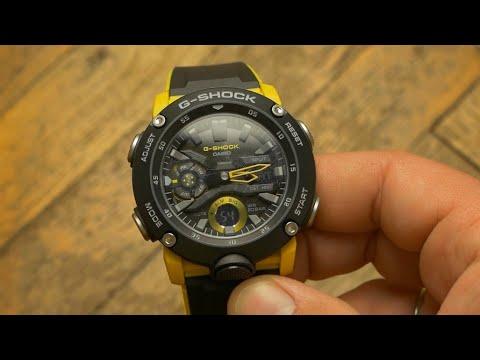 c21ec3c3b43d1b GA-2000 Carbon Core - The most revolutionary G-Shock yet - YouTube