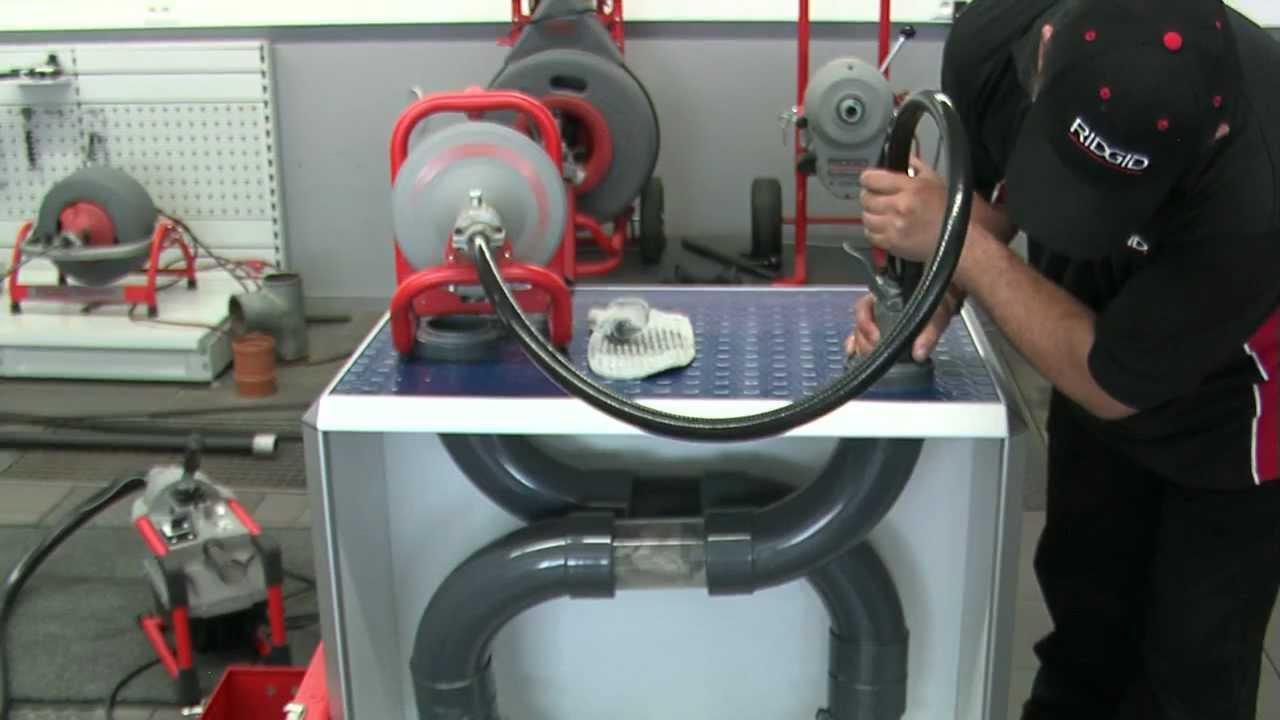 Ridgid K 40 Drain Cleaning Machine Autofeed Drum Machine
