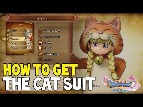 DRAGON QUEST XI How To Get The CAT SUIT (Dragon Quest 11 Cat Suit Location)