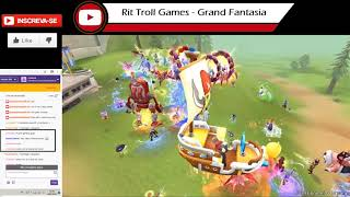 O culpado da morte de todos no Grand Fantasia - Evento -- Rit Troll Games