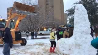 Snow Penis 2015 Texas Tech