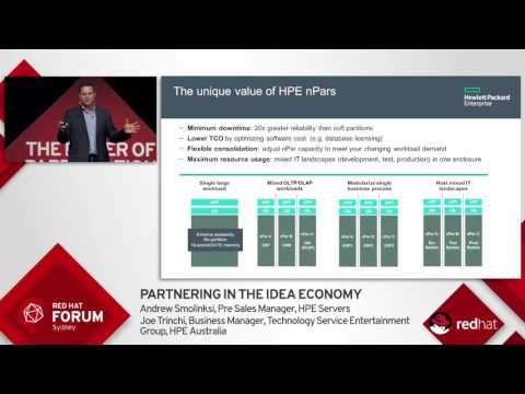 Highlights from Red Hat Forum Sydney 2016: Andrew Smolinski & Joe Trinchi