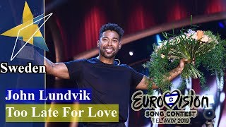 """John Lundvik to Eurovision 2019 for Sweden with """"Too Late For Love"""""""