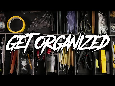 Making a Hobby Desk Tool Organizer from Dollar Store Foamcore
