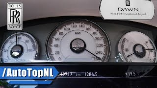 Rolls Royce Dawn ACCELERATION TOP SPEED & SOUND 0-250km/h by AutoTopNL