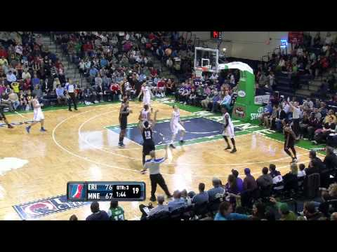 NBA D-League Highlights: Erie BayHawks 102, Maine Red Claws 109, 2013-3-28