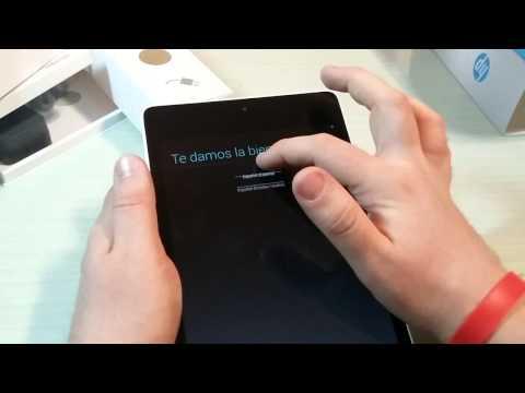 Video unboxing HP Slate 8 Pro ITA