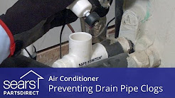 Air Conditioner Not Cooling: Float Switches and Drain Pipe Clogs
