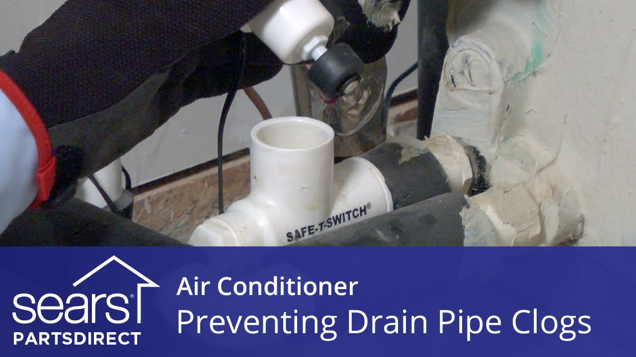 Air Conditioner Not Cooling Float Switches And Drain Pipe Clogs