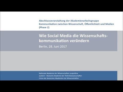 Wie Social Media die Wissenschaftskommunikation verändern